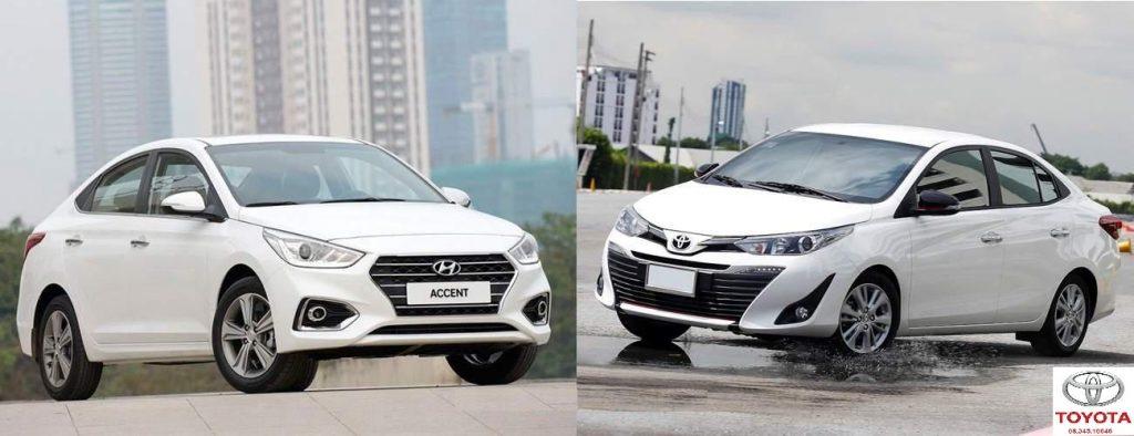 so sánh hệ thống an toàn của Hyundai Accent và Toyota Vios